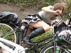最強のアクメ自転車☆