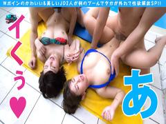 超インカレ級美少女JDとWボイン4P!